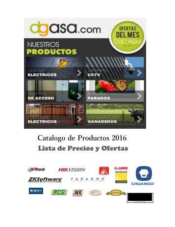 Catalogo de Productos 2016 Lista de Precios y Ofertas