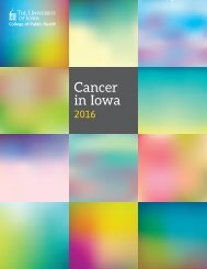 Cancer in Iowa