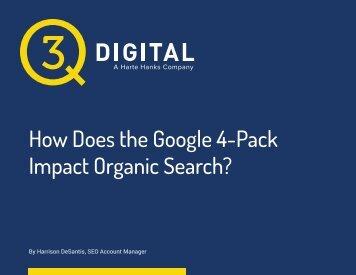 Impact Organic Search?