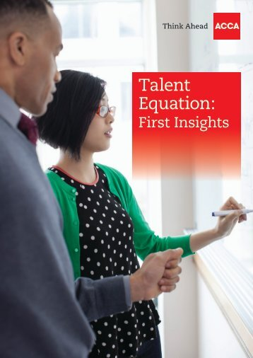Talent Equation