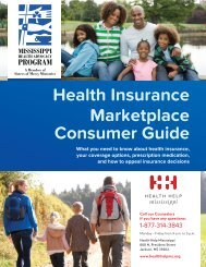Health Insurance Marketplace Consumer Guide