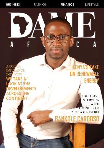 DAME Africa Magazine Q2 2016