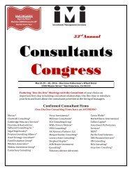 Consultants Congress