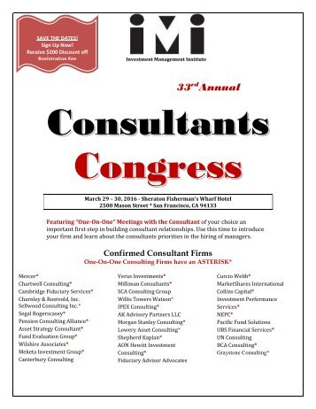 Consultants Congress