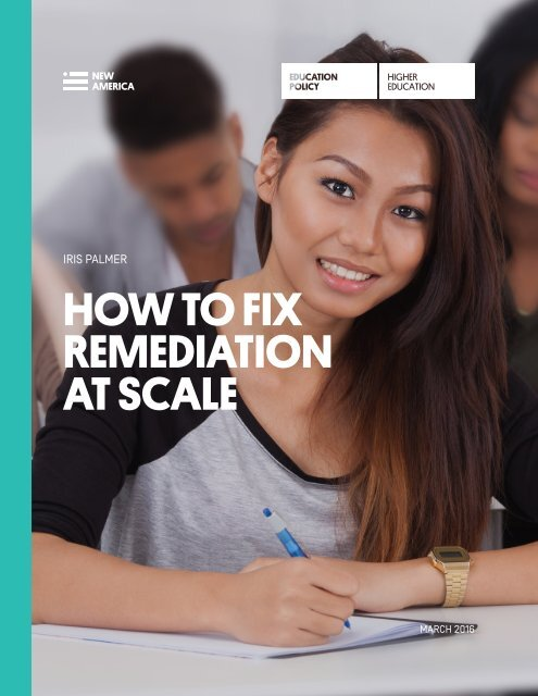 HOW TO FIX REMEDIATION AT SCALE