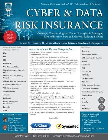 CYBER & DATA RISK INSURANCE