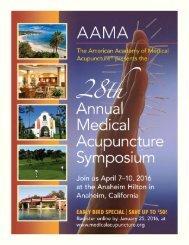 emphasis acupuncture