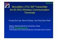 60 GHz LTCC SoP module integrating all transmitter