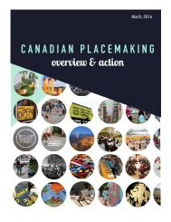 CANADIAN PLACEMAKING