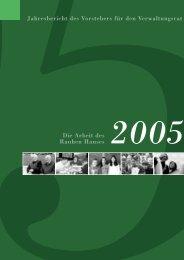 Jahresbericht 2005 - Das Rauhe Haus