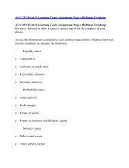 ACC 291 Online Help,ACC 291 Course Tutorials,ACC 291 UOP Guide