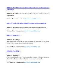 BSHS 325 Online Help,BSHS 325 Course Tutorials,BSHS 325 UOP Guide