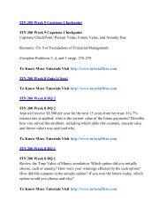 FIN 200 Online Help,FIN 200 Course Tutorials,FIN 200 UOP Guide
