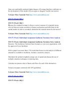FIN 571 Online Help,FIN 571 Course Tutorials,FIN 571 UOP Guide - Page 2