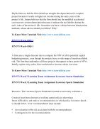 FIN 571 Online Help,FIN 571 Course Tutorials,FIN 571 UOP Guide - Page 3