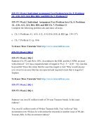 FIN 571 Online Help,FIN 571 Course Tutorials,FIN 571 UOP Guide - Page 5