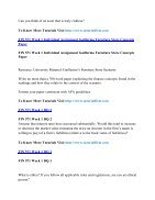 FIN 571 Online Help,FIN 571 Course Tutorials,FIN 571 UOP Guide - Page 6
