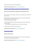 ISCOM 472 Online Help,ISCOM 472 Course Tutorials,ISCOM 472 UOP Guide - Page 3