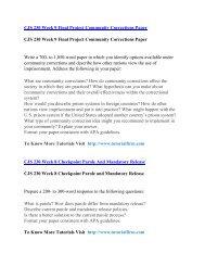 CJS 230  UOP Course,CJS 230  UOP Materials,CJS 230  UOP Homework