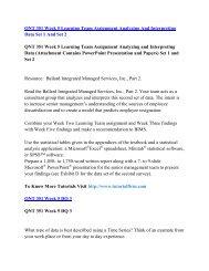 QNT 351 UOP Course,QNT 351 UOP Materials,QNT 351 UOP Homework