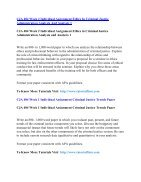 CJA 484 UOP Assignments,CJA 484 UOP Entire Class,CJA 484 UOP Full Class - Page 5