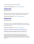 FIN 486 UOP Assignments,FIN 486 UOP Entire Class,FIN 486 UOP Full Class - Page 2