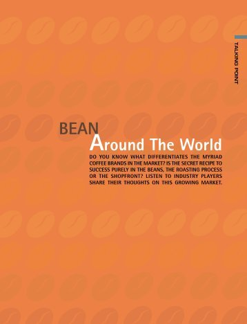 BEAN Around The World - Asia Cuisine