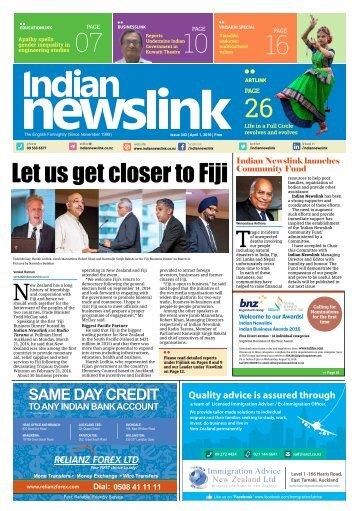 Indian Newslink April 1 2016 Digital Issue