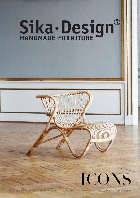 Sika-design - Handcrafted Design Furniture Mobel Kollektion Rattan Garten Design