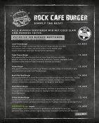 Speisekarte SWR3 Rockcafe Europa-Park - Seite 5