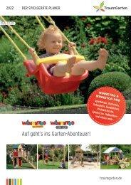 Traumgarten - Der große Spielgeräte Planer 2021