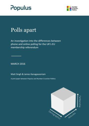 Polls apart