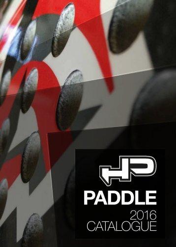 HP Paddle - Catalogo 2016