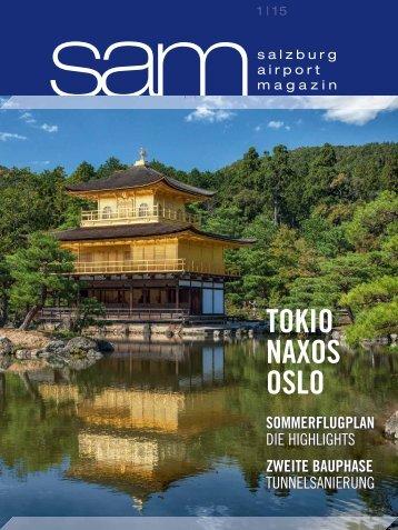 Salzburg Airport Magazin SAM 2015-01