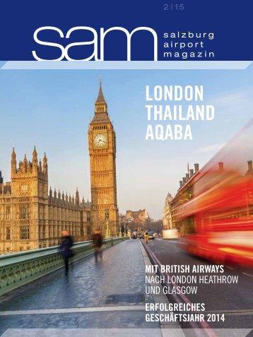 Salzburg Airport Magazin SAM 2015-02