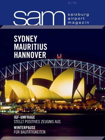 Salzburg Airport Magazin SAM 2015-03