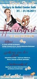 Herbstfest Flyer DINlang.indd - Factory In Selb