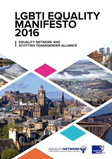 LGBTI EQUALITY MANIFESTO 2016