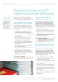 Your guide to managing staff wellbeing - Page 6