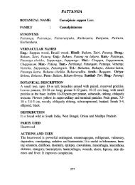PATTANGA - HERBALNET Digital Repository