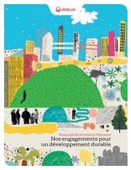 Nos engagements pour un développement durable