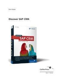 Discover SAP CRM - Galileo Computing