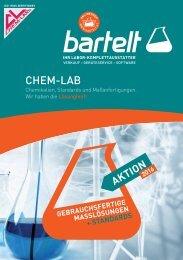 Chemikalien:  gebrauchsfertige Maßlösungen & Standards