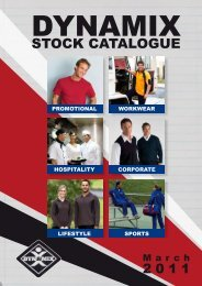 Stock Catalogue (excluding Promotional Product and ... - Dynamix