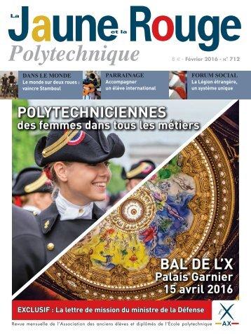 POLYTECHNICIENNES BAL DE L'X