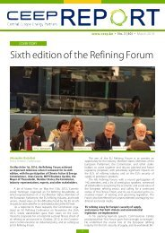 Sixth edition of the Refining Forum