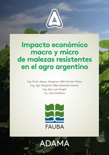 Impacto económico macro y micro de malezas resistentes en el agro argentino