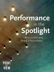 Performance Spotlight