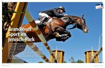 Grandioser Sport im Jenisch-Park - Pferd+Sport