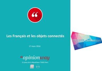 Les Français et les objets connectés